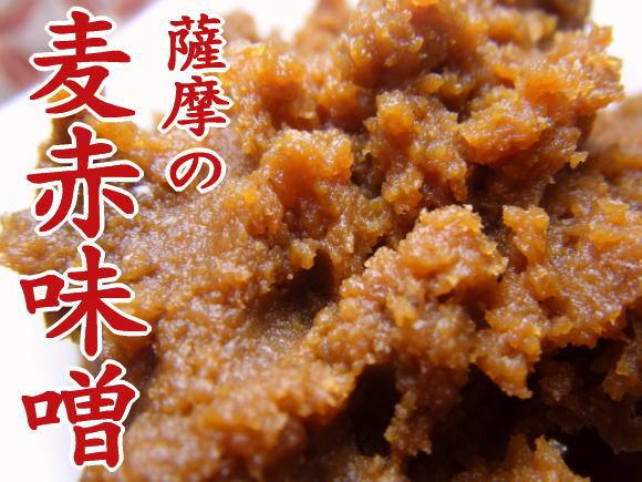 薩摩の麦赤味噌