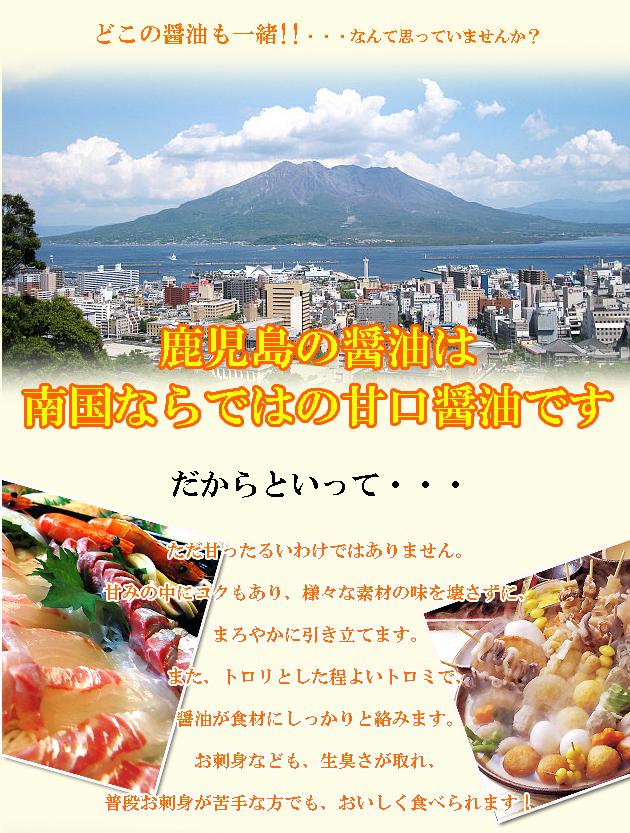 鹿児島 桜島 醤油