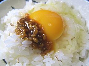 醤油麹の卵かけごはん